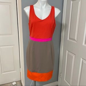 Cynthia Rowley Colorblock Dress- Large